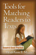 Tools for Matching Readers to Texts