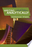 Cover of Writing Analytically