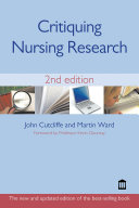 Critiquing Nursing Research 2nd Edition