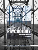 Statistics in Psychology Laboratory Manual