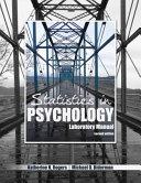 Statistics in Psychology Laboratory Manual