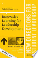 Innovative Learning for Leadership Development