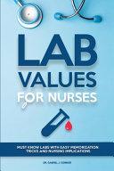 Lab Values for Nurses