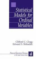 Statistical models for ordinal variables