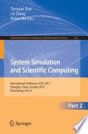 System Simulation and Scientific Computing, Part II