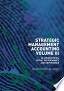 Strategic Management Accounting  Volume III