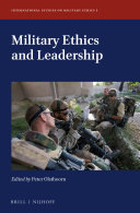 Military Ethics and Leadership