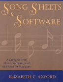 Song Sheets to Software