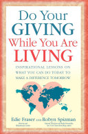 Do Your Giving While You Are Living