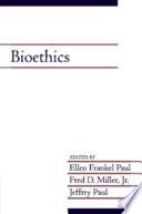 Bioethics: Volume 19
