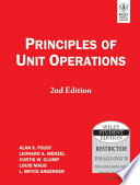 Principles Of Unit Operations, 2Nd Ed