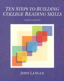 Ten Steps to Building College Reading Skills Book