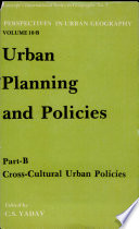 Urban Planning and Policies