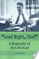 Good Night  Chet    Book
