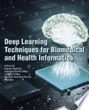 Deep Learning Techniques for Biomedical and Health Informatics