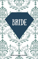 Bride Small Size Blank Journal Wedding Planner To Do List 5 5 x8 5  120 Pages Book 9