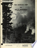 Forest Interpreter s Primer on Fire Management Book