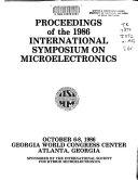 Proceedings of the 1986 International Symposium on Microelectronics Book
