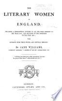 The Literary Women of England