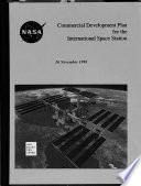 Commercial Development Plan for the International Space Station