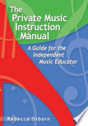 The Private Music Instruction Manual Book PDF