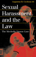 Sexual Harassment and the Law