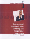 Module 5  Interpersonal Communication Listening and Responding