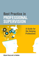 Best Practice in Professional Supervision