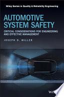 Automotive System Safety