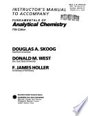 Instructor's Manual to Accompany Fundamentals of Analytical Chemistry