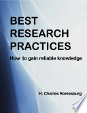 Best Research Practices