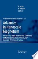 Advances in Nanoscale Magnetism