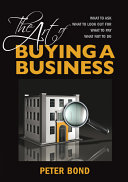 The Art of Buying a Business