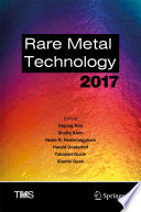 Rare Metal Technology 2017
