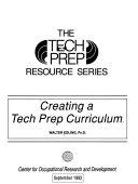 Creating a Tech Prep Curriculum Book