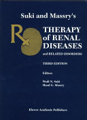 Suki and Massry s Therapy of Renal Diseases and Related Disorders Book
