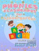 Phonics Flashcards for Kindergarten Book