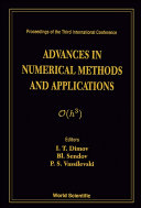 Advances in Numerical Methods and Applications
