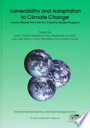 Vulnerability And Adaptation To Climate Change Book PDF