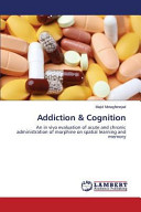 Addiction   Cognition Book