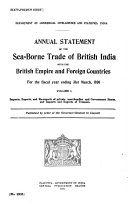 Annual Statement of the Sea borne Trade of British India with the British Empire and Foreign Countries