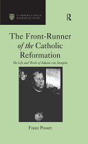 The Front-Runner of the Catholic Reformation Pdf/ePub eBook