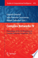 Complex Networks IV Book PDF
