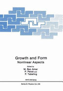 Growth and form: nonlinear aspects