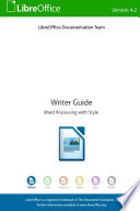 Libreoffice 4 2 Writer Guide