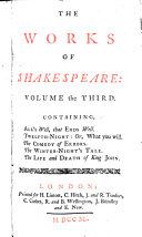 Pdf The Works of Shakespeare