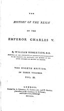Pdf The History of the Reign of the Emperor Charles V.