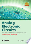 Analog Electronic Circuits  For 3rd Semester of APJKTU  Kerala