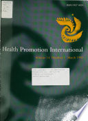 Health Promotion International