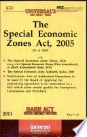 The Special Economic Zones Act, 2005